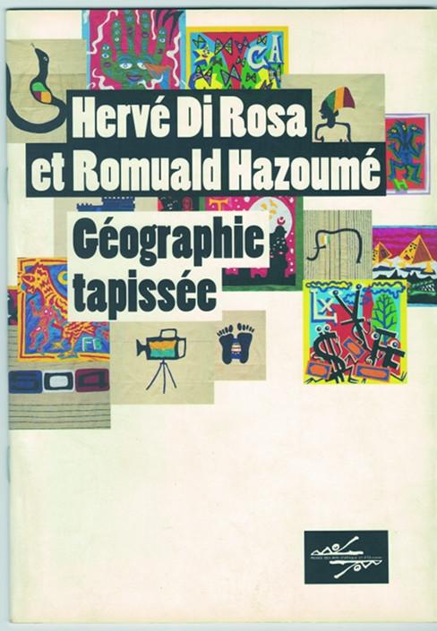 Cotonou (Bénin), Géographie tapissée, Hervé Di Rosa et Romuald Hazoumé