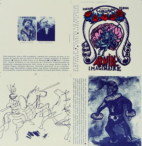 Armide imaginaire de Dominico Cimarosa, 1994