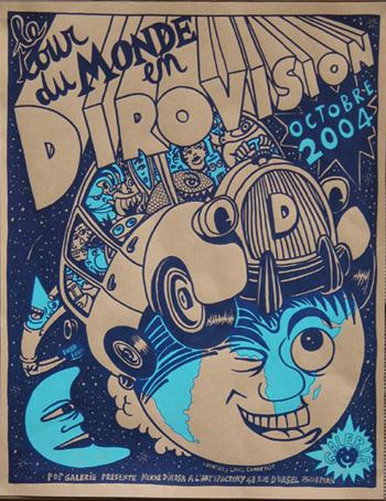 exposition Le tour di monde en Dirovision, Paris 2004