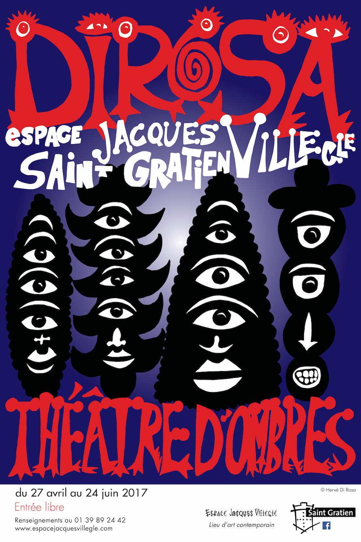 exposition Théâtre d'ombres, Saint Gratien 2017