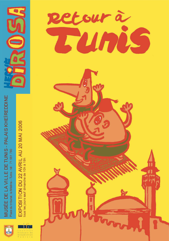 exposition Retour à Tunis, 2006