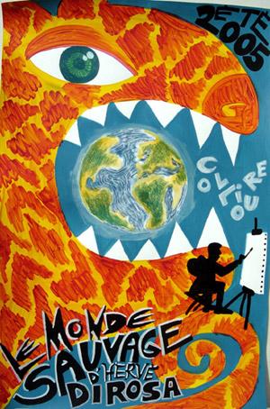 exposition Le monde sauvage d'Hervé Di Rosa, Collioure 2005