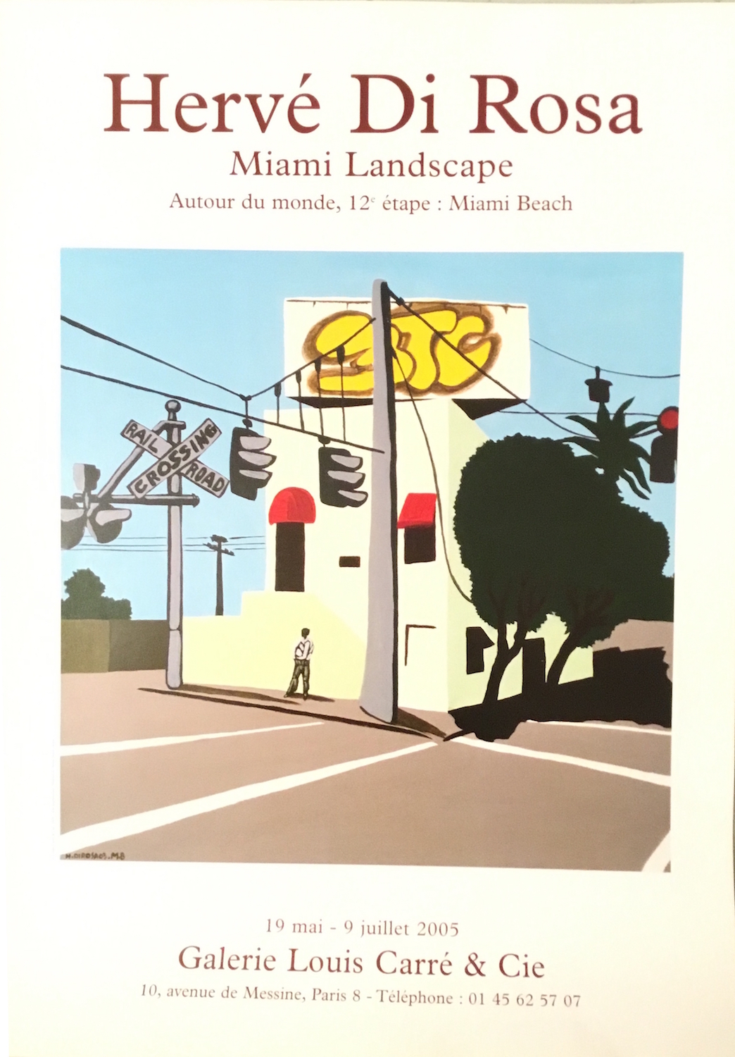 exposition Miami landscape, galerie Louis Carré, Paris 2005