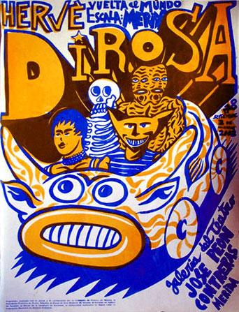 exposition Hervé Di Rosa à Mérida, Mexique, 2002
