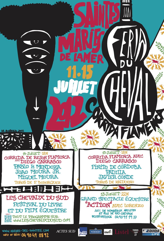 Feria Saintes Maries de la mer 2012