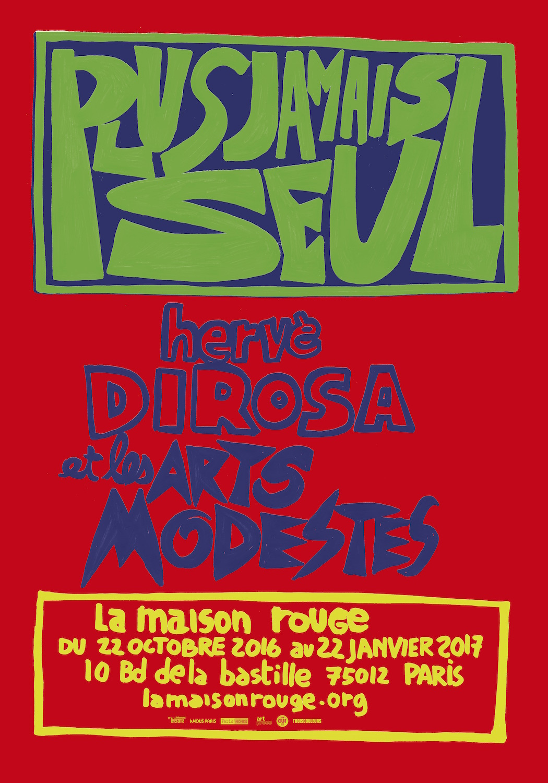 exposition La maison rouge, Paris 2016