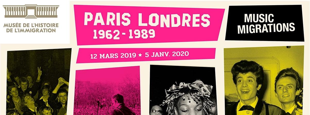Music Migrations/Paris-Londres 1962-1989